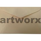 Cream 15x10cm Envelope 15pk
