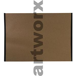 A1 Kraft Portfolio Envelope with Taped Sides