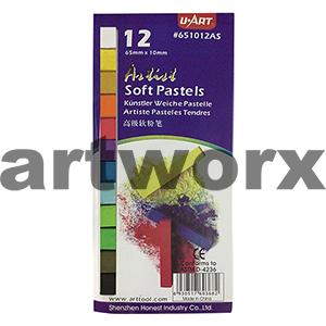 12pc Standard Colours U Art Pastels