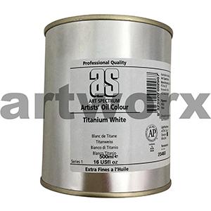 Titanium White s1 500ml Tin Art Spectrum