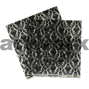 12 x 12 inch Brocade Pattern Acetate