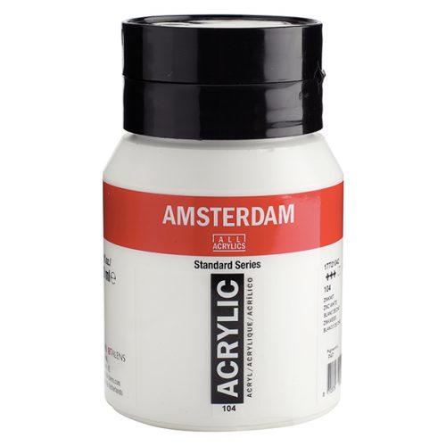 Titanium White 500ml Acrylic Amsterdam