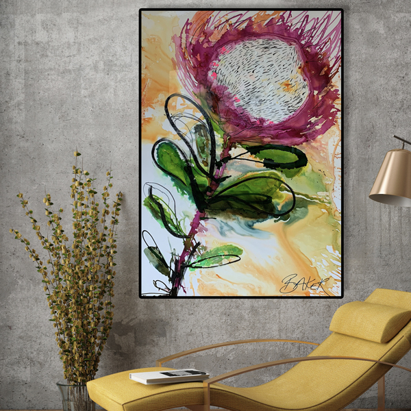 All Materials Online Protea Painting Workshop