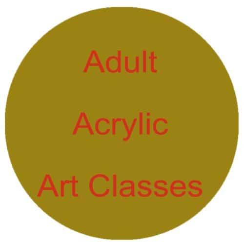 Adult Acrylic Art Classes