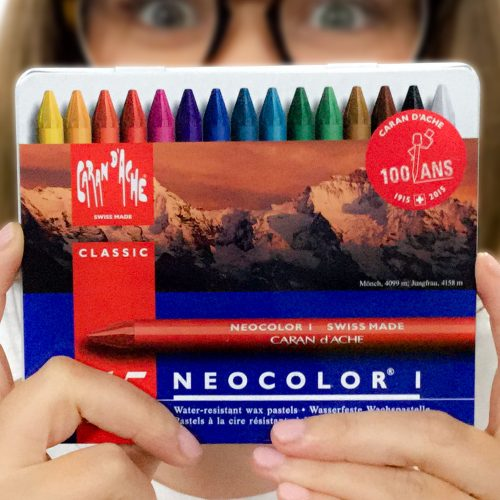 Artist Non-Water Soluble Crayons