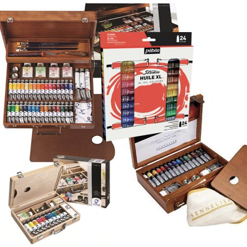 Assorted Oil Paint Sets