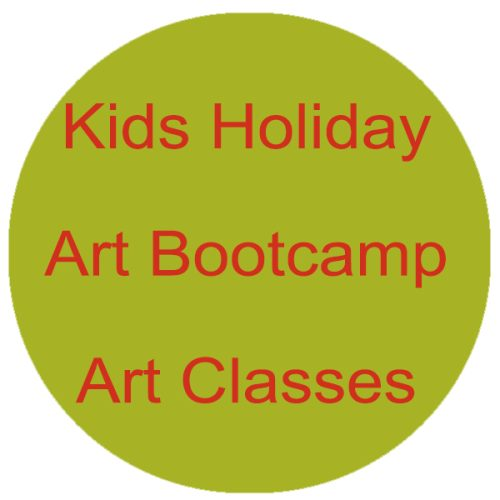 Kids Holiday Bootcamp Art Classes