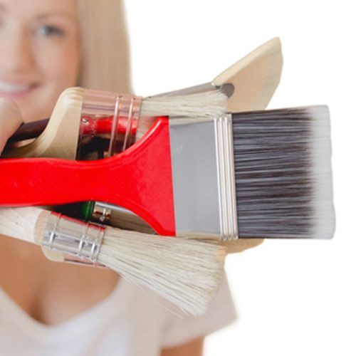 Brushes, Palette Knives & Shapers