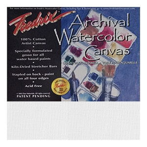 Fredrix Watercolour Canvases