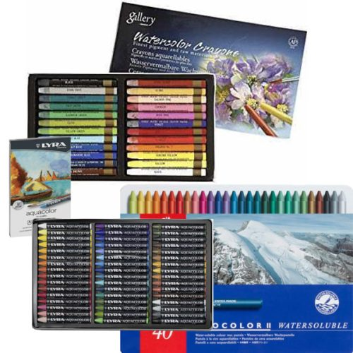 Artist Water Soluble Crayons