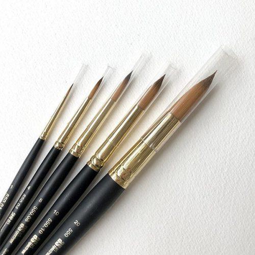 Size 0 Round Sablinsky Watercolour Brushes Art Spectrum