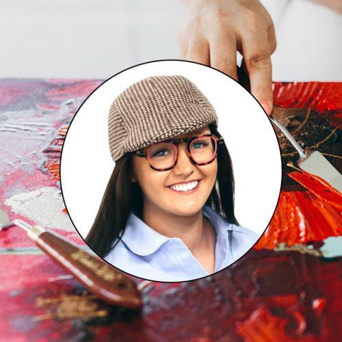 Red Poppy art class video with Australian artist Jessica Baker