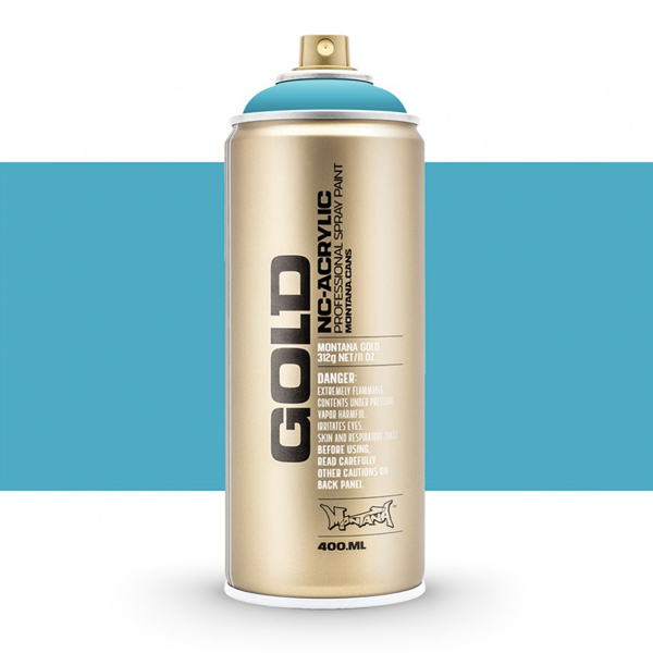 Pure Cyan Montana Spray Paint 400ml