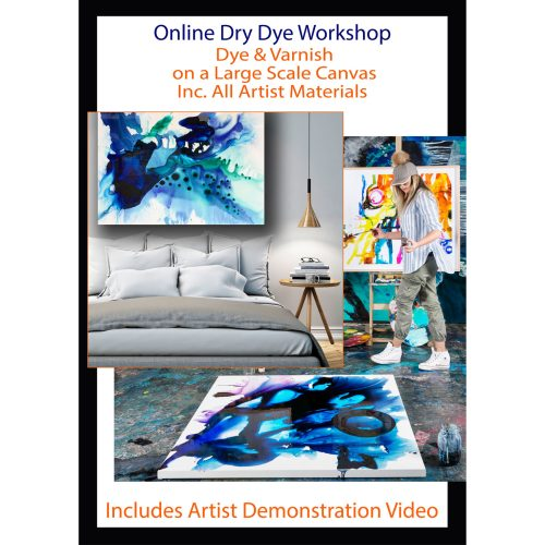 Abstract Painting Workshop with artist Jessica Baker