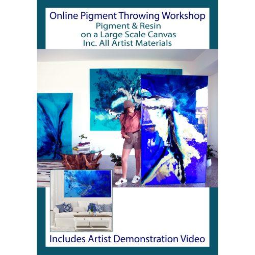 Pigment Painting Workshop