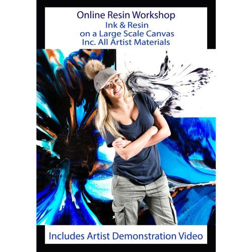 Resin Online Workshop with Australian artist Jessica Baker