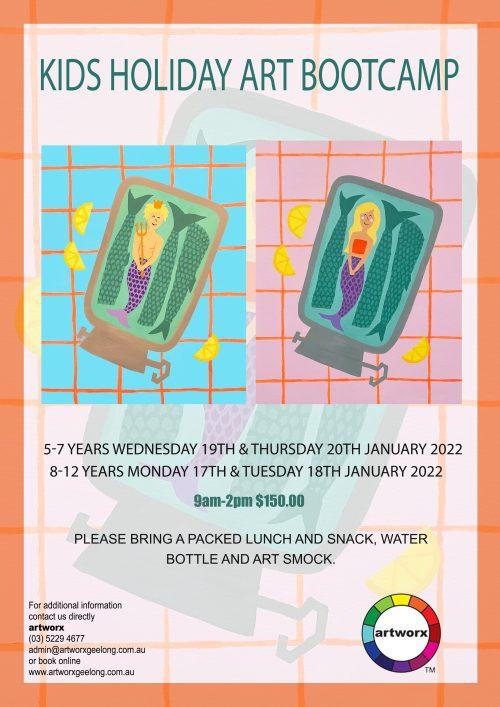 8-12yrs Kids Bootcamp Program 17th & 18th January 2022